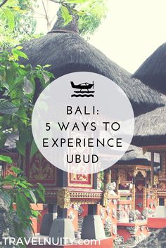 Located in the centre of Bali, Ubud is best known as a popular destination for yoga tourism, but there are many different ways to experience it.