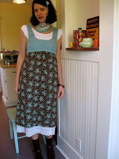 Crochet Bodice Dress II by Green Kitchen, via Flickr