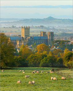 Wells cathedral. Elizabeth Goudge books.
