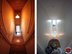 Restauration de la cage d'escalier : on apporte un peu de lumière !