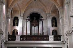 La tribune de l'orgue L'orgue est dû à la maison rouennaise Krischer (1881).Rouen église st Sever