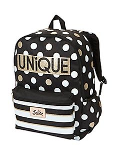 Polka Dot Initial Backpack | Girls Backpacks & School Supplies ...