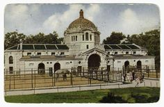 1911-1920  Elephant house. New York Zoological Park