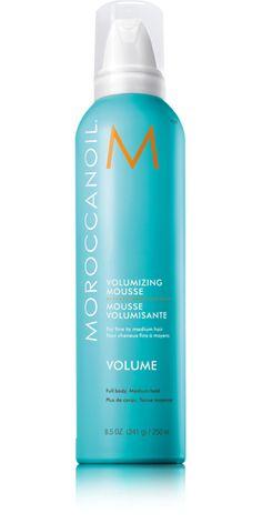 Volumizing Mousse Moroccanoil (Espuma volumen para cabellos finos).