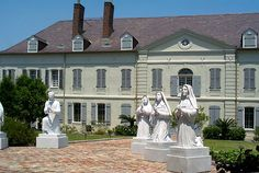 """Old Ursuline Convent in New Orleans--the oldest building in the Mississippi River Valley having been built in 1752.  Ask about """"The Casket Girls."""""""