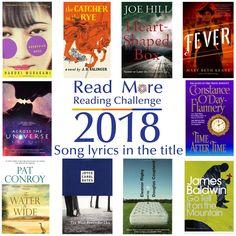 #readmore2018 #readingchallenge #books #songlyricsintitle #seymourlibrary