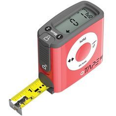 Digital Tape Measure - The eTape16 digital tape measure revolutionizes not only the tape measure but also expands its utility as never before envisioned.