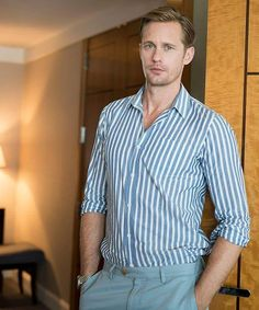 "Perfect. NEW PIC!!! #alexanderskarsgard interview for cinematoday.japan July 6, 2016 Promo for ""LegendOftarzan"""
