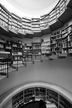Ampliamento Biblioteca Ezio Vanoni - Luigi Caccia Dominioni, 1965 - Picture gallery