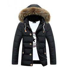 Manteau coton à capuche tendance et à la mode