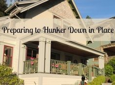 Preparing to Hunker Down in Place - Backdoor Survival. And it has lots of good links for more information. Homestead Survival, Camping Survival, Survival Prepping, Survival Gear, Survival Skills, Water Survival, Survival Hacks, Survival Quotes, Doomsday Prepping