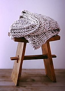 Pottery Barn Inspired Chunky Knit Throw