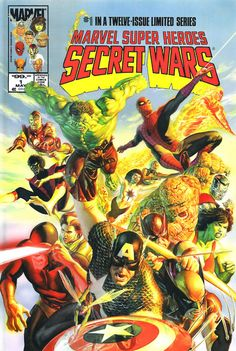 Las Secret Wars según Alex Ross