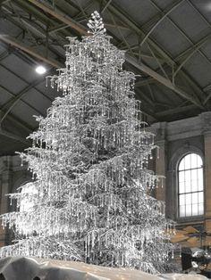Crystal Christmas Tree | #TreatYoSelf | #ParksandRec