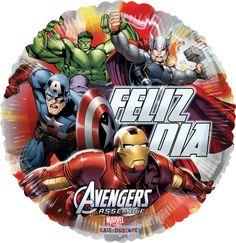 Avengers Assemble Feliz Día 9