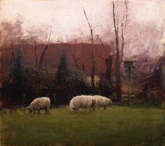 Dutch Sheep - Giclee Print by Michael Workman #michaelworkman #brownstoneart #workmanprints #art #interiordesign