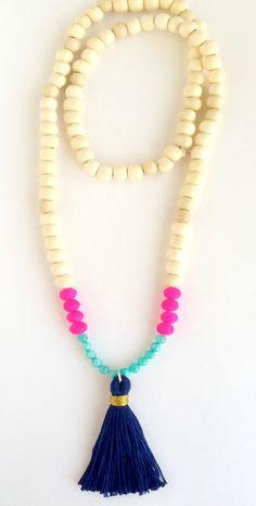 Tassel Necklace - The Celia