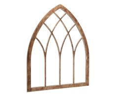 Influenced by the exquisiteness of cathedral windows, this tall splendid arched window design will make your home more elegant. This piece is a delightful focal point in any room giving your guest a true conversation piece. It comes in Salvage, Jo's White and Chimney.