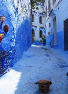 Chefchaouen - the blue city in Morocco (55 photos)