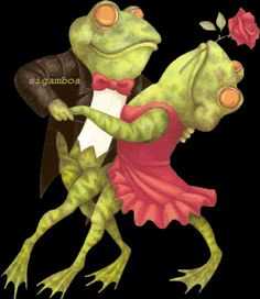 gifs pour tous - Page 22 Frog Pictures, Gif Pictures, Animated Emoticons, Animated Gif, Gif Mignon, Gif Lindos, Tierischer Humor, Beau Gif, Funny Frogs