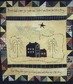 primitive stitchery patterns - Bing Images