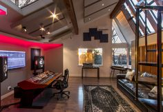 FM Design Private Recording Studio portfolio