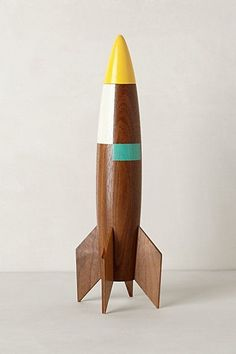 Colorblocked Rocket by Pat Kim Design