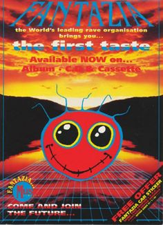 Relive early rave with these classic Fantazia photos and flyers - News - Mixmag 1990s Rave, Plakat Design, Festival Flyer, Psy Art, Coloring Pages For Girls, Retro Images, Photoshop Design, Psychedelic Art, Zine