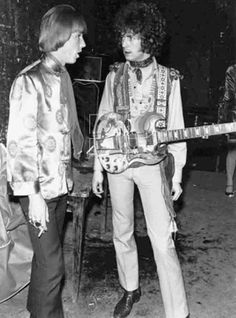 Ian Amey & Eric Clapton-First International Pop Festival-Paris June 1 1967.   #EricClapton