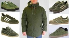 Cool Norse Projects Lindisfarne jacket in Olive Green looks cool teamed up with navy or black denim and any of the adiporn on display - Ardwick, Spezial, Hamburg, Tobacco, Gazelle and Topanga