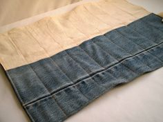 How To : Denim Tool Roll