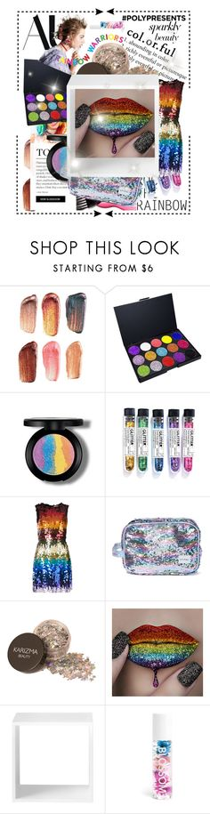 """""""#PolyPresents: Sparkly Beauty"""" by samanthabre ❤ liked on Polyvore featuring beauty, Bite, Alice + Olivia, Chloé, Spiral, Muuto, Blossom, contestentry and polyPresents"""