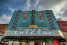 Ritz Theater - Covington, TN   Right beside my new job and on the square.
