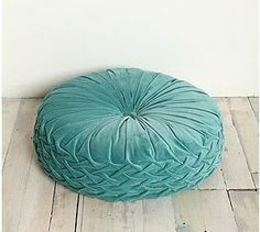 floor pillow | Round Pintuck Floor Pillow from Urban Outfitters