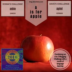 A to Z Blogging Challenge: A is for Apple #atozchallenge