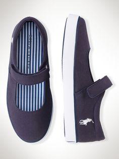 blue shoes for girls RL