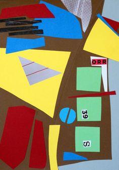 "Saatchi Art Artist Urbano Espinosa; #collage ""Ville Sud"" #art #abstract"