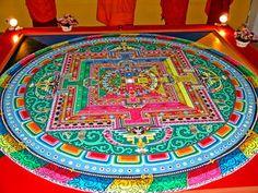 阪神大震災犠牲者の13回忌法要 : チベット仏教の芸術『砂曼荼羅』の画像集 - NAVER まとめ
