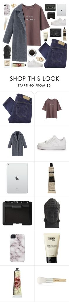 """i've been facing trouble almost all my life. my sweet love won't you pull me through."" by pure-and-valuable ❤ liked on Polyvore featuring Victoria Beckham, NIKE, Aesop, NARS Cosmetics, Nearly Natural, philosophy, TokyoMilk, Paul & Joe, C.R.A.F.T. and bhalo"
