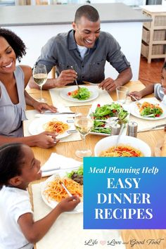 Need inspiration for tonight's dinner entrée? I can help! Get EASY dinner recipes here including 30-minute meals, recipes for the grill, sheet pan dinners, slow cooker recipes, grilling recipes, easy casseroles, and more! Healthy Food Habits, Healthy Kids, Healthy Eating, Healthy Recipes, Healthy Lifestyle, Healthy Family Dinners, Family Meals, Weeknight Dinners, Family Recipes