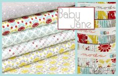 Baby Jane by Eric & Julie Comstock for Moda