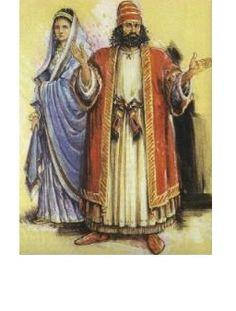 Ancient Hebrew Clothing - Not exactly what I would wear, but it's a descent enough start as far as robes go. The web article provides some insight on how the early Hebrews/Israelites dressed in terms of male and female, society (social status), as well as modesty.   (Personally I think everyone should be a little modest about how they dress, especially women nowadays.)