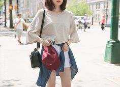 Image via We Heart It #asian #fashion #girl #korea #koreanfashion #outfits #street #kfashion