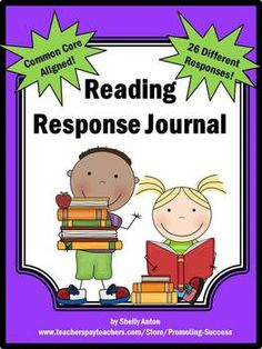 These reading response journal pages may be used with any book! There are 26 different pages focusing on Common Core skills:  Activity A - Predictions  Activity B - Favorite Part  Activity C - Favorite Character  Activity D – Timeline  Activity E – Conflict  and more!