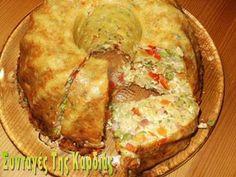 ΣΥΝΤΑΓΕΣ ΤΗΣ ΚΑΡΔΙΑΣ: Ζυμαρικά με λαχανικά σε φόρμα Main Dishes, Side Dishes, Cheese Pies, Pasta, Party Buffet, Group Meals, Greek Recipes, Frittata, Bon Appetit