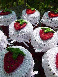Häkeln im Quadrat: Erdbeerparade