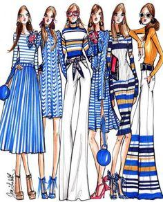 Dress Design Sketches, Fashion Design Sketchbook, Fashion Illustration Sketches, Fashion Design Drawings, Fashion Sketches, Portfolio Mode, Fashion Portfolio, Fashion Prints, Fashion Art
