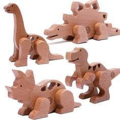 Wooden Toys Educational Toy Childrens Toys Children's Toy Shop - Edtoy Magnetic Dinosaur Building Set
