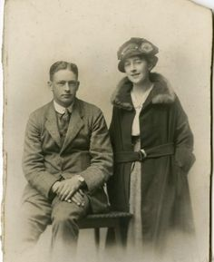 Agatha Christie with Archie