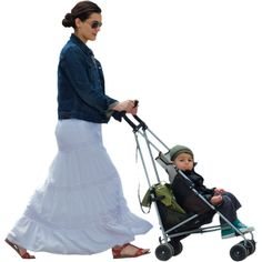 Woman with Stroller and Kid (in stroller) | Immediate Entourage